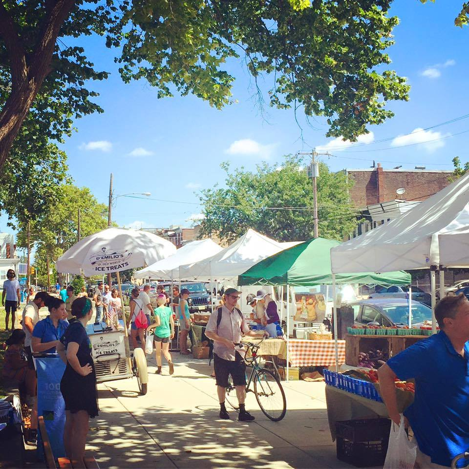 Dickinson Square Park Farmers Market
